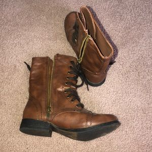 Madden Girl Shoes - Madden Girl Combat Boots!